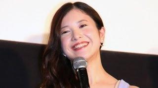女優の吉高由里子さんが2月23日、東京都内で行われた映画「横道世之介」...