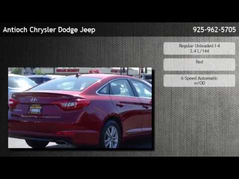 2016 Hyundai Sonata SE   Oakley. Antioch Chrysler Jeep Dodge