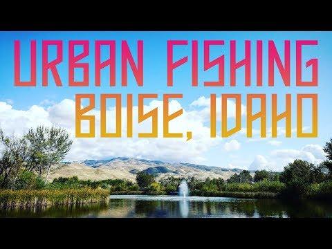 Urban Fishing In Boise, Idaho || Fishing + Outdoors + Adventure || Nowhere Pacific