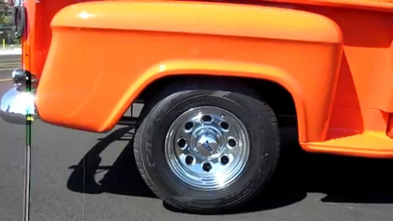 1959 Chevy Apache Shortbed 350 V8 Restored and FAST for sale - YouTube