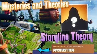 FORTNITE SEASON 5 ROAD TRIP STORYLINE THEORY - Mystery Behind Road Trip Revealed?!