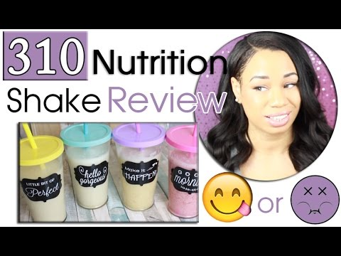 310 Nutrition Shake Review Youtube