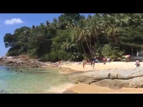 Thailand - all around beautiful Phuket beaches trip, real view Bang Tao, Surin, Kamala