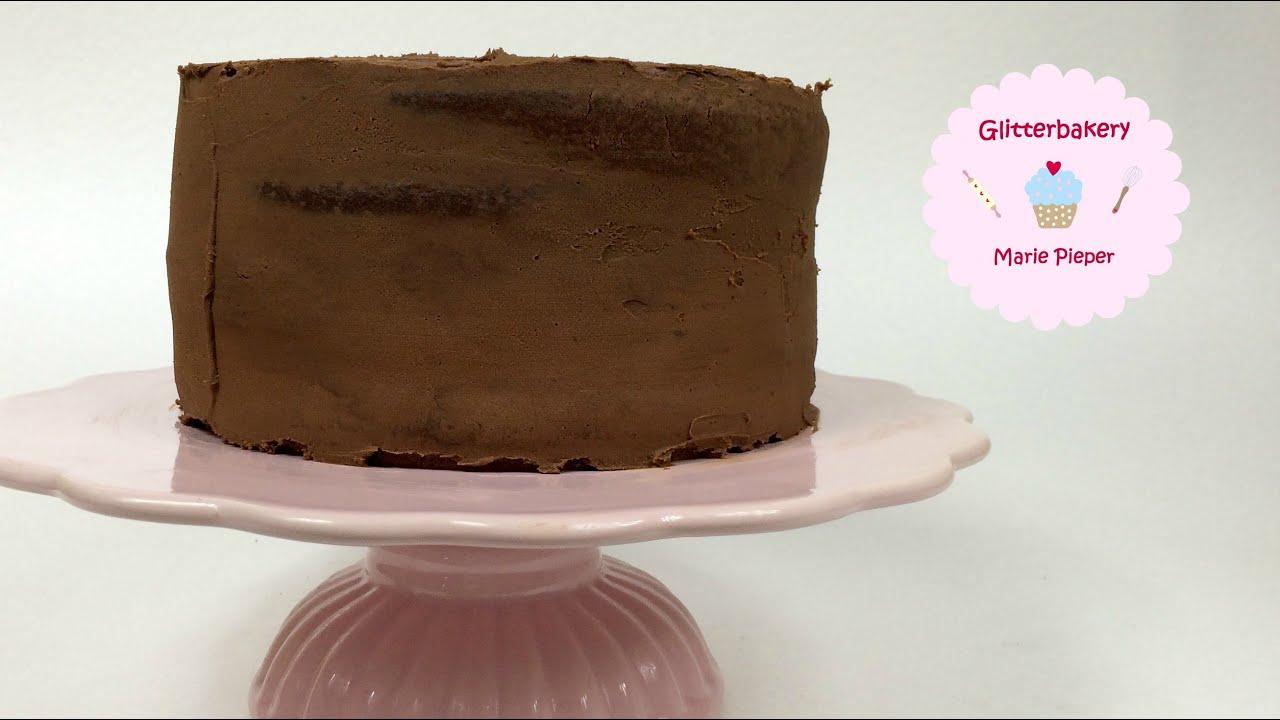 Wie torte mit ganache einstreichen