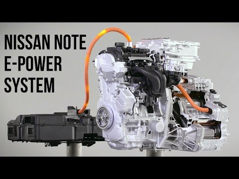 Nissan NOTE e-POWER System