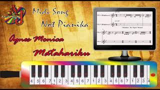 Not Pianika Agnes Monica - Matahariku (Pianika Cover)