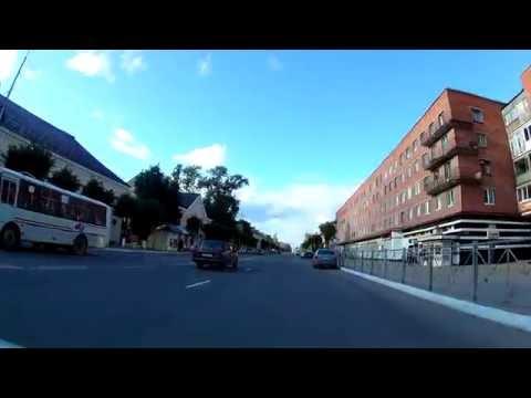 город Сланцы - виды основных улиц