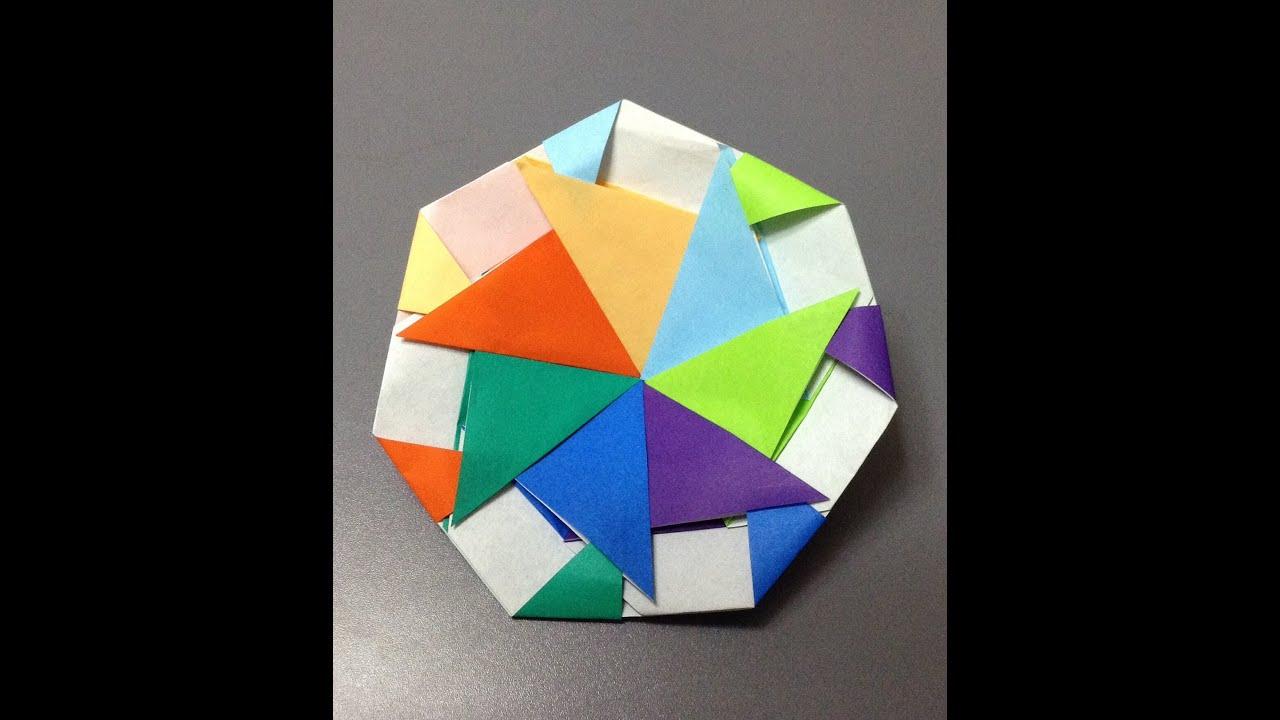 すべての折り紙 カブトムシ 折り紙 折り方 : 折り紙 コマ 折り方 作り方 ...