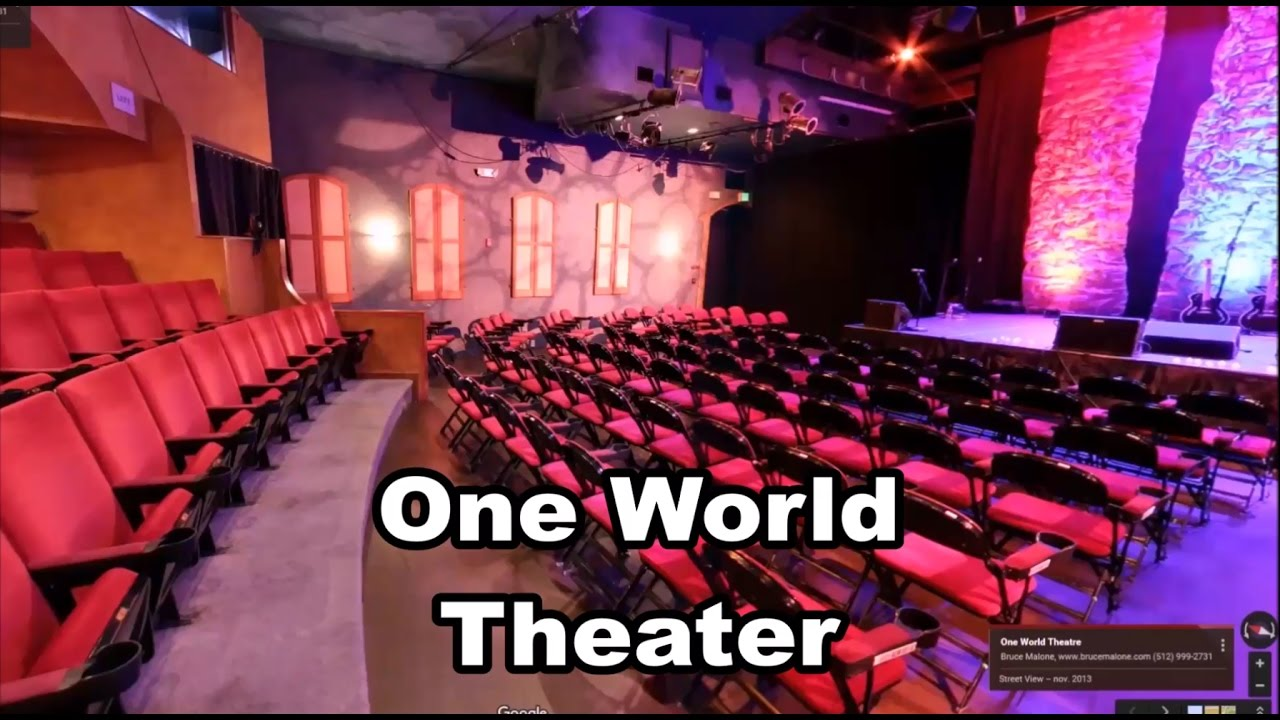 One World Theater Austin Texas Cgus États Unis Théâtre Théame Google Earth