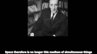 Merleau-Ponty - Exploration of the Perceived World: Space (English Subtitles) Thumbnail