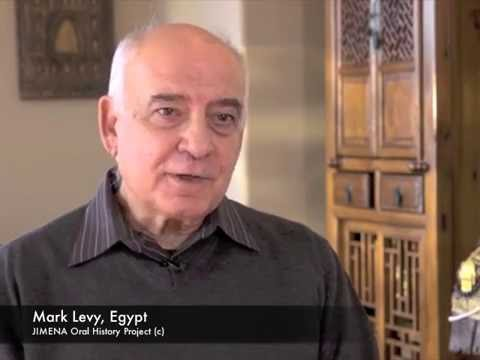 Ben-Gurion Archives and JIMENA: Mark Levy, Egypt