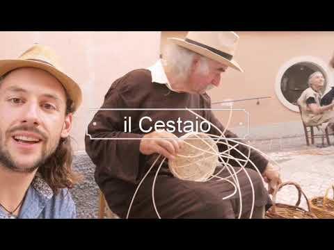 Basket Weaving in Italy - Il Cestaio in Abruzzo