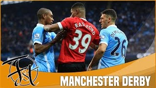 The dirty side of Manchester Derby: Fights, Red cards, Dives & Fouls!