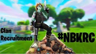 NBK Clan Recruitment Fortnite Mobile #NBKRC