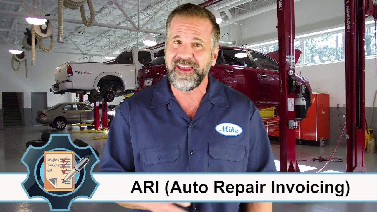 ARI (Auto Repair Invoicing) - the ultimate auto repair software