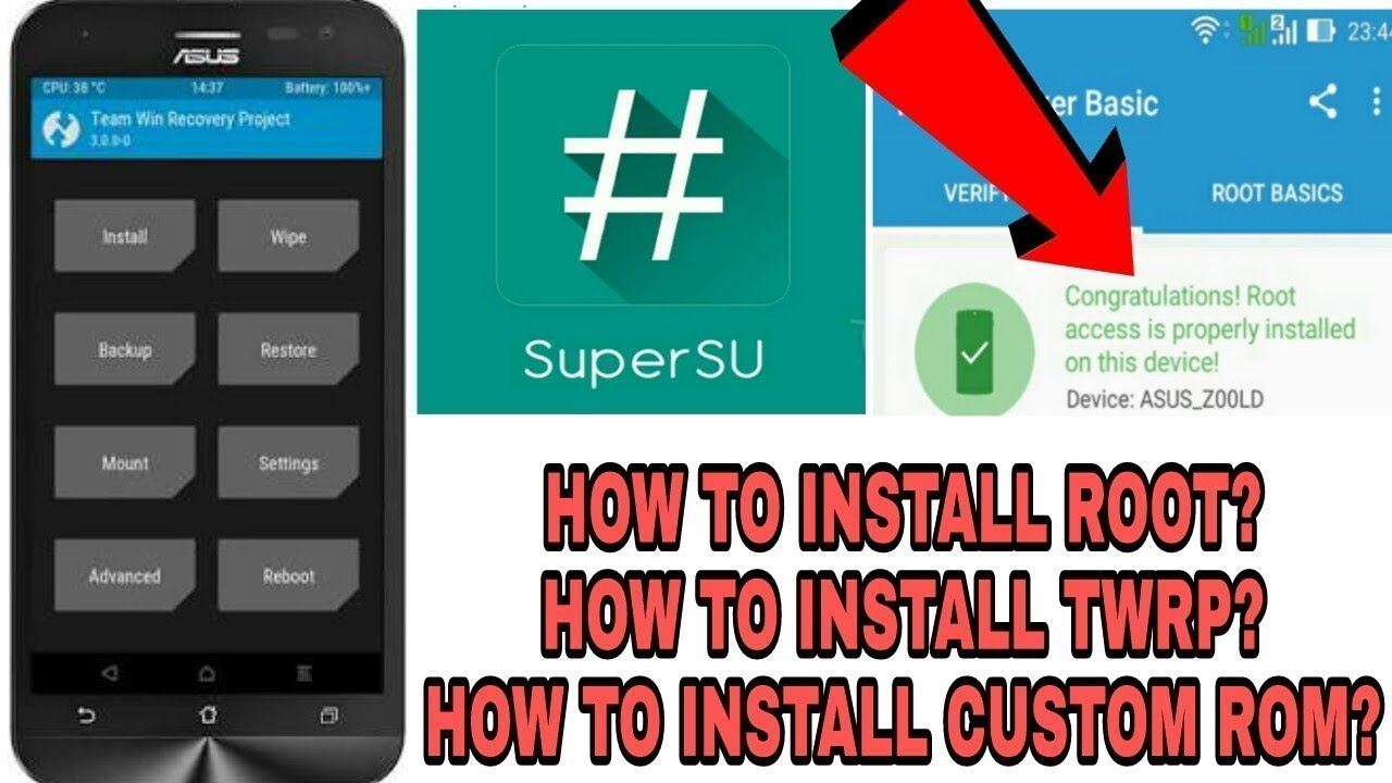 How to unlock Boot loader of Asus Zenfone Max And Install TWRP Custom  Recovery