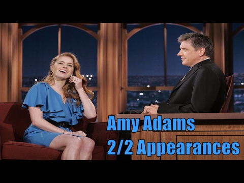 Amy Adams  Talks Sex Before Marriage  22 Appearances In Chron. Order  LOW QUALITY