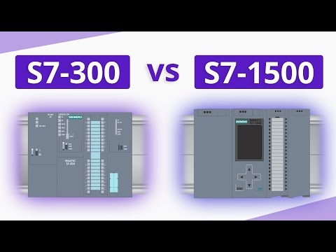 What are the differences between SIMATIC S7-300 and S7-1500