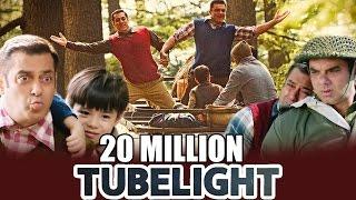 Salman Khan's Tubelight Teaser CROSSES 20 MILLION Views - New Record Set
