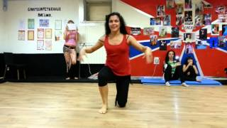 Maya Sabitova. Workshop In Kostroma. Iraqi Dance
