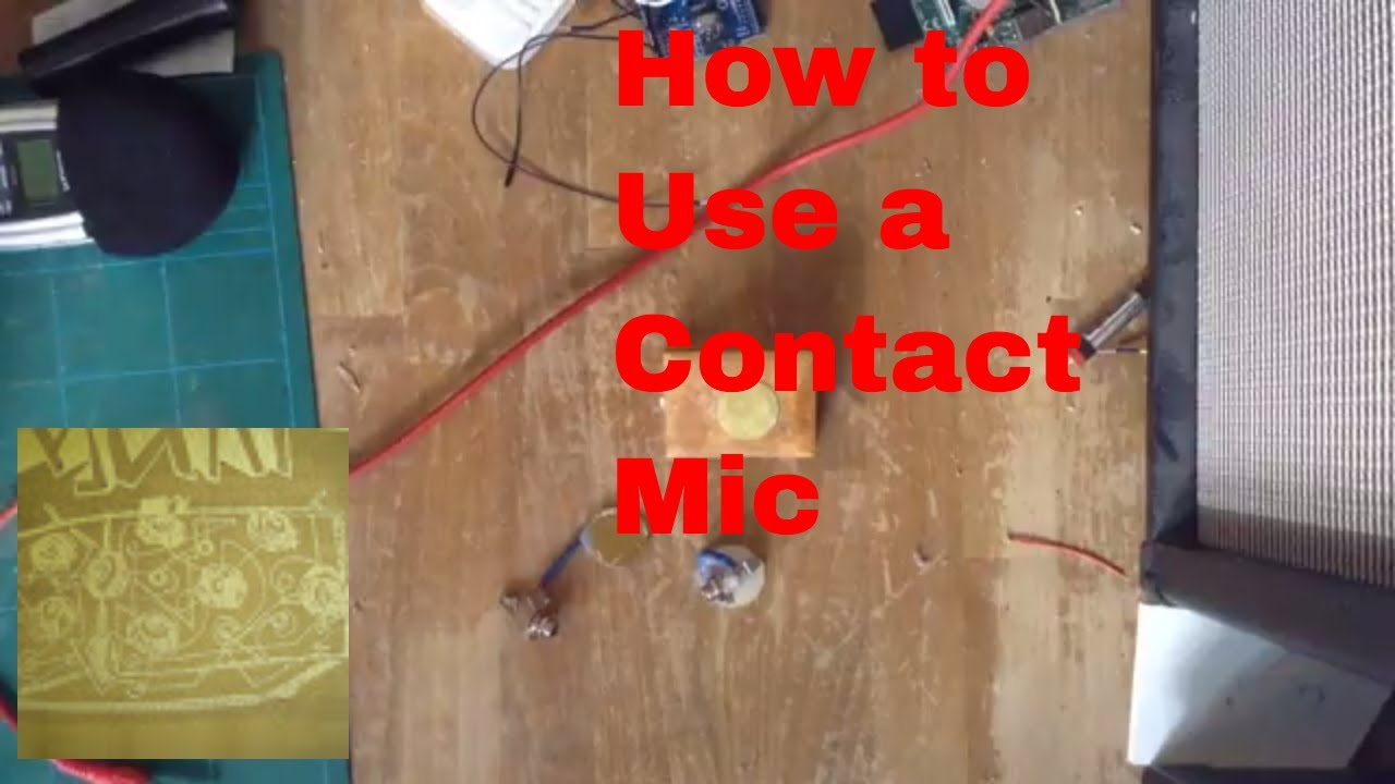 Snap How To Build A Diy Contact Mic Circuit Photos On Pinterest Kit 6806 Fm Wireless Microphone Board L Ebay Use An Acoustique Audio Piezo Transducer Violin Pickup Demo