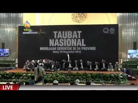 Ust. Salim Ghazali Dan Huffadz Juara Dunia Membaca Juz 11 Pada Milad Indonesia Murojaah Yang Ke-2