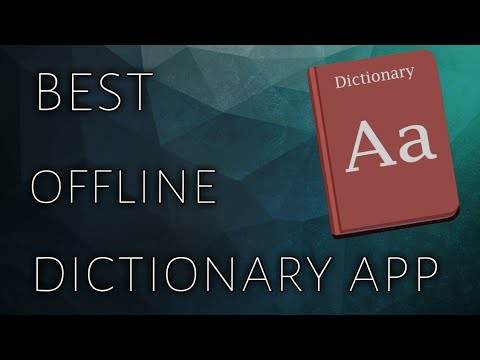 Best Offline Dictionary App For Android || How To Download Dictionary For Android || Telugu 2018 ||