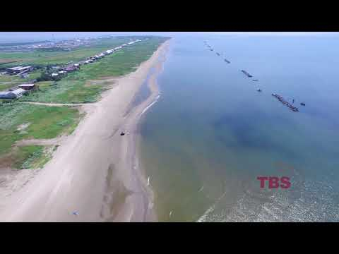 Grand Isle, Louisiana Beach Side Aerial Survey - Flown July 20, 2017