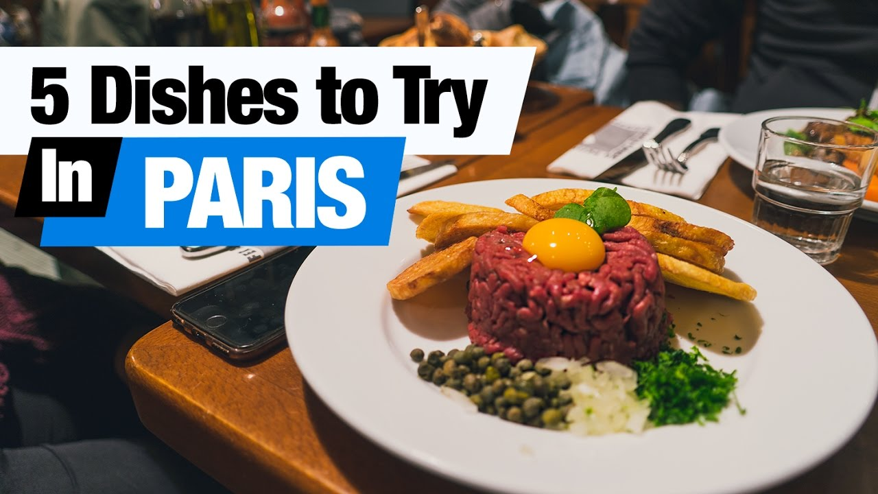Exceptionnel French Food Tour - 5 Dishes to Try in Paris, France! (Americans  ZH52