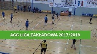 AGG Liga Zakładowa: Jawar - Straż Pożarna Młock (02.02.2018 - 13. Kolejka)