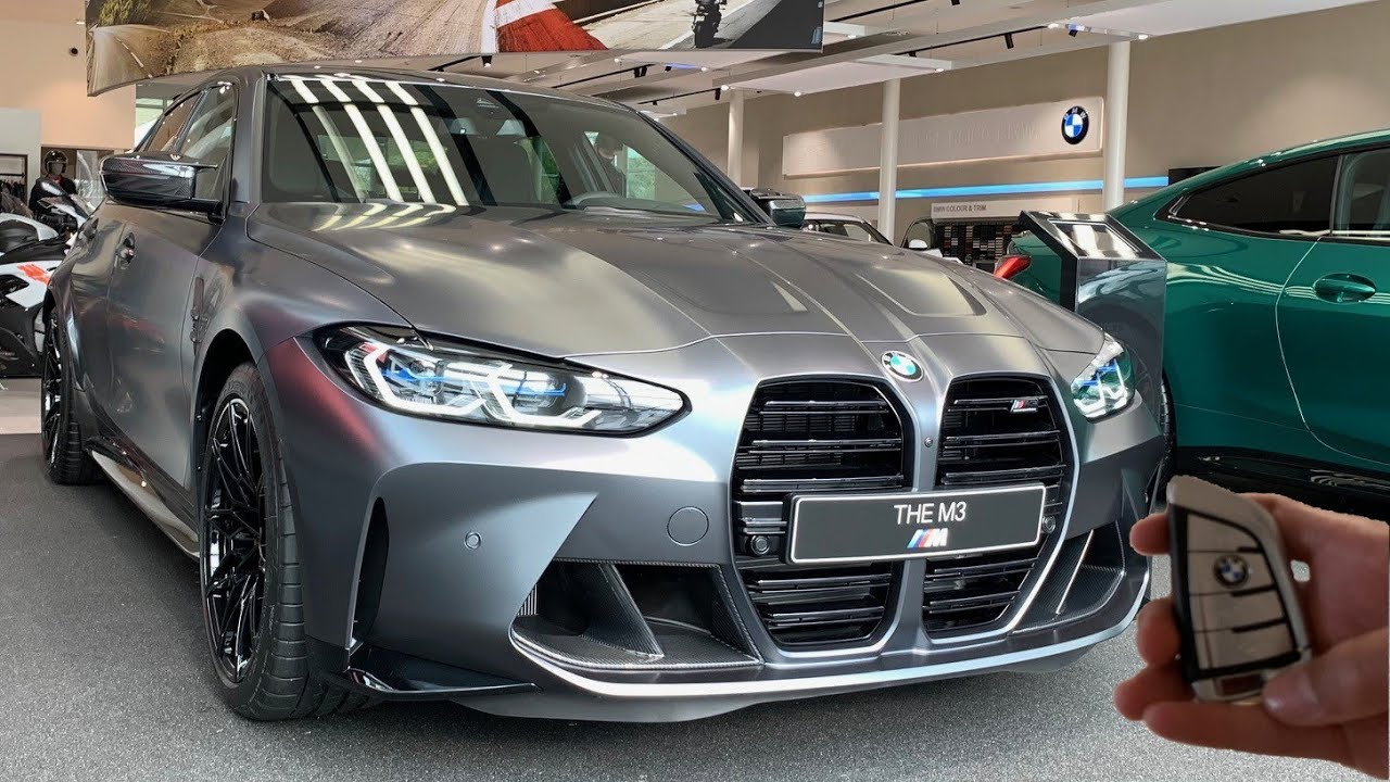 2021 Bmw M3 Competition G80 Sound Startup And Visual Review Exterior And Interior Youtube