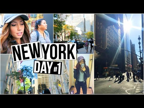 FIRST DAY IN NEW YORK CITY, Exploring the City w/Remi