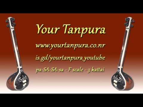 Your Tanpura - F Scale - 4 kattai
