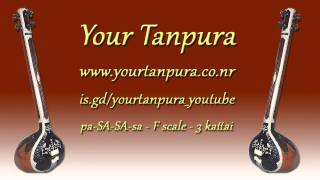 Your Tanpura - F Scale - 4 kattai