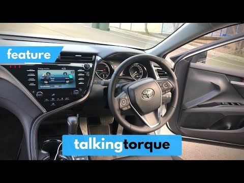 [K]  Toyota Camry Hybrid Ascent Sport - FULL Interior Tour