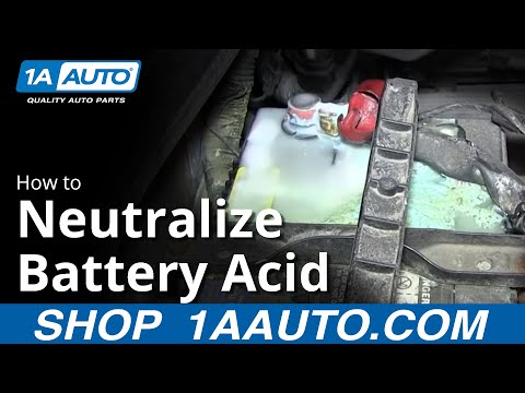 How To Neutralize & Clean Battery Acid Corrosion