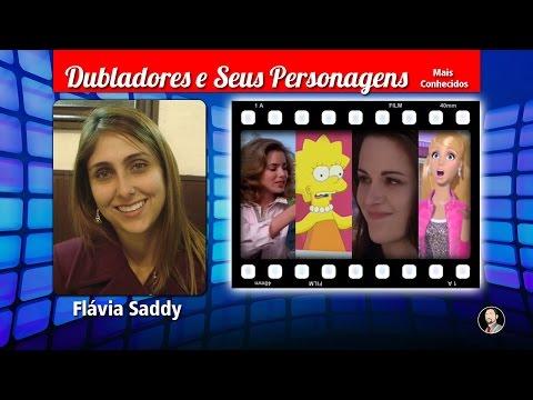 Flávia Saddy  Dubladores e Seus Personagens