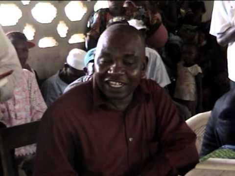 VISIT TO KASSEH CHIEFDOM - 2013 - PART 4