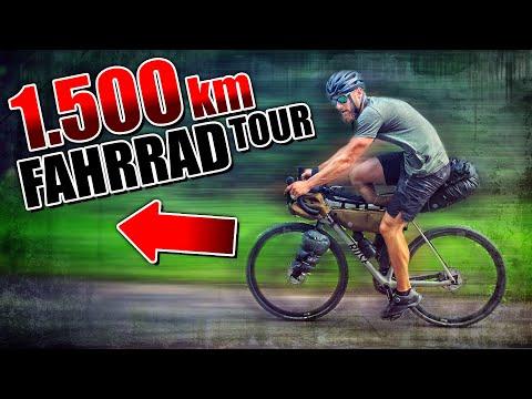 1.500km mit dem FAHRRAD | Von Berlin nach Estland #001 - Bikepacking Abenteuer Tour | Fritz Meinecke