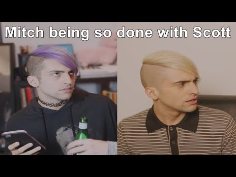 scömìche - Mitch being so done with Scott