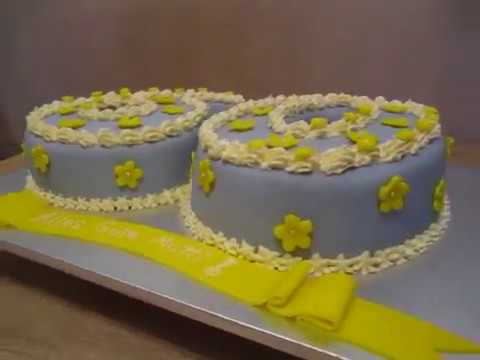 60 geburtstag fondant torte mit blumen youtube. Black Bedroom Furniture Sets. Home Design Ideas