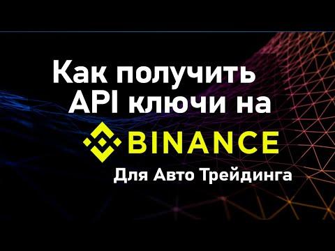 №2 Binance - Создание API ключей для торговли через ETerader и ETerminal