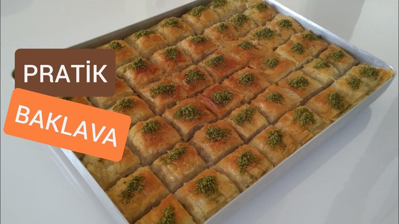 HAZIR YUFKADAN BAKLAVA - BAKLAVA TARİFİ - ŞERBETLİ TATLILAR - Leziz Yemek Tarifleri