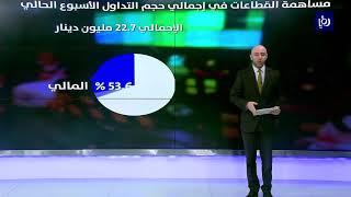تراجع مؤشرات التداول في بورصة عمان خلال الأسبوع الحالي  - (11-7-2019)