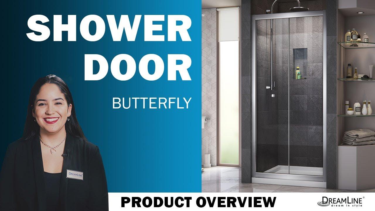 Dreamline Butterfly Bi Fold Shower Door Youtube