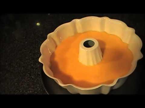 Orange Juice Bundt Cake With Orange Glaze