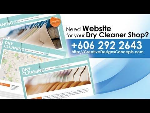 Dry Cleaner Laundry Website Melaka | Creative Web Design | +60 6 2922643