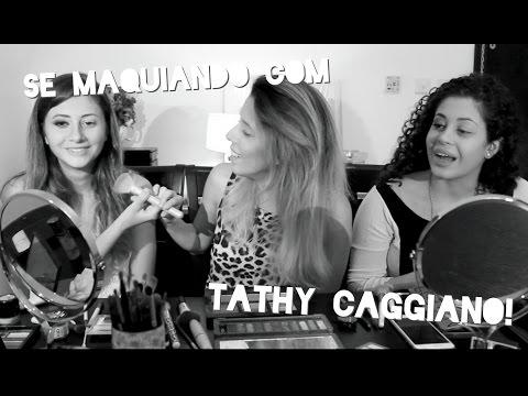 MAQUIAGEM PARA COMISSÁRIAS PADRÃO EMIRATES com Tathy Caggiano | Não Perturbe!