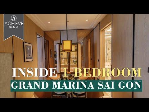 𝟏 𝐏𝐍 𝐆𝐫𝐚𝐧𝐝 𝐌𝐚𝐫𝐢𝐧𝐚 𝐒𝐚𝐢𝐠𝐨𝐧 |  Căn hộ mẫu 1PN dự án Grand Marina SaiGon giá 23 tỷ | 62m2 | 0868882539