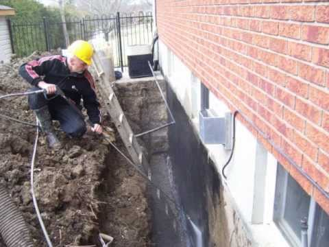 Brantford Concrete Crack Repair Basement Foundation Epoxy Polyurethane
